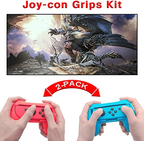 GZW-Shop Empuñaduras Agarres de Controlador de Joy-con Mando Grips ...
