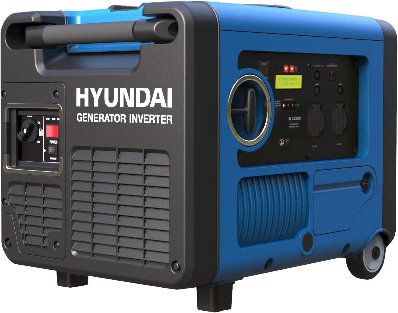 HYUNDAI HY4500SEi D - Generador inversor de gasolina portátil ...