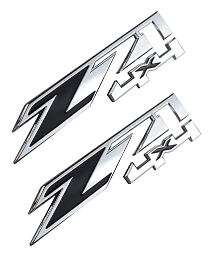 Amazon Com Aimoll 2pcs Z71 4x4 Emblems Replacement For Gmc Chevy