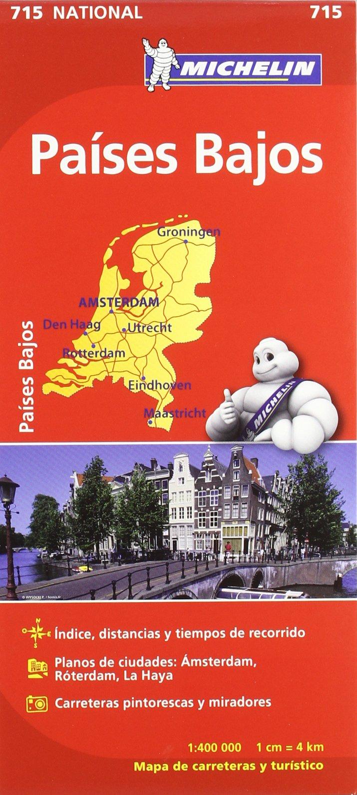 Mapa National Países Bajos (Mapas National Michelin): Amazon.es ...