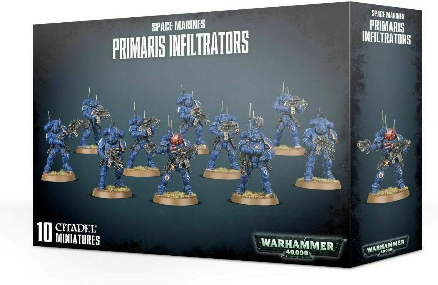 Games Workshop Warhammer 40,000: Space Marines PRIMARIS INFILTRATORS