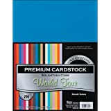 Darice Core'dinations Value Pack Card stock, 8.5 by 11-Inch, 200/Pack
