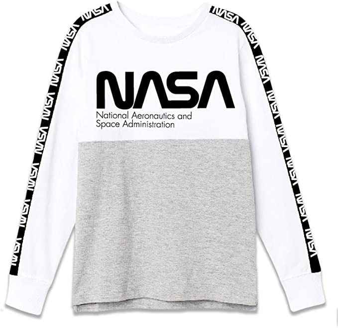 Maglietta a maniche corte in cotone Nasa