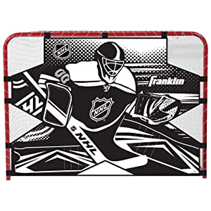 Franklin Sports Hockey Shooting Target - NHL - Fits 54 x 44 Inch Hockey Goal - Perfect For Hockey Shooting Practice - 5 Targets