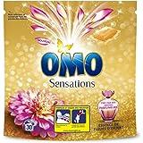 Omo lessive Capsules Essence de Fleurs d'Orient 30 Dosettes - Lot de 2