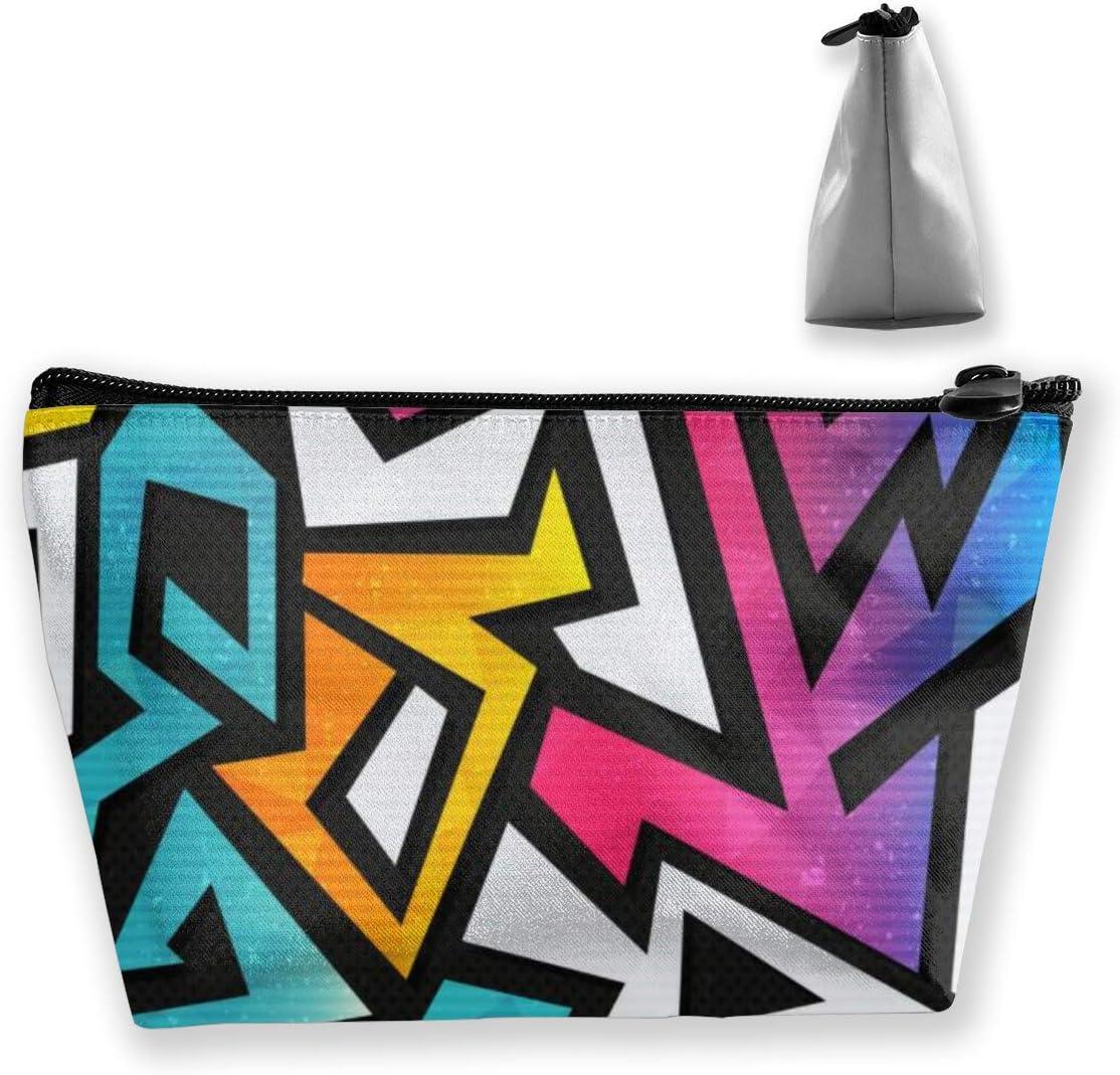 Estuche cosmético geométrico Rainbow con Organizador de Pincel: Amazon.es: Equipaje