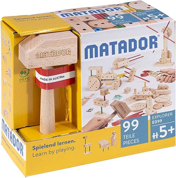 Matador-E099 Explorer E099 Baukasten, Multicolor (11099)