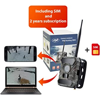 Trail de vigilancia (GPRS GSM) con foto App cámara, la fauna, caza