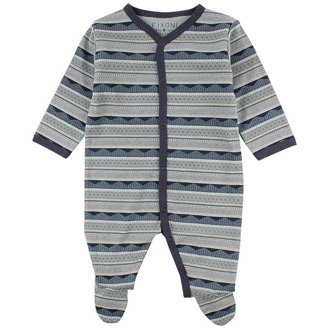 Fixoni Free Nightsuit-oekotex, Pelele para Dormir Unisex bebé, Azul 30-09 Lead, 86 cm: Amazon.es: Ropa y accesorios