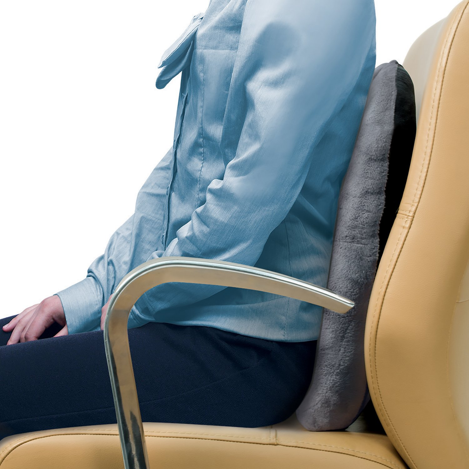North American Reversible Back Posture Support Cushion by North American Health and Wellness (Image #4)
