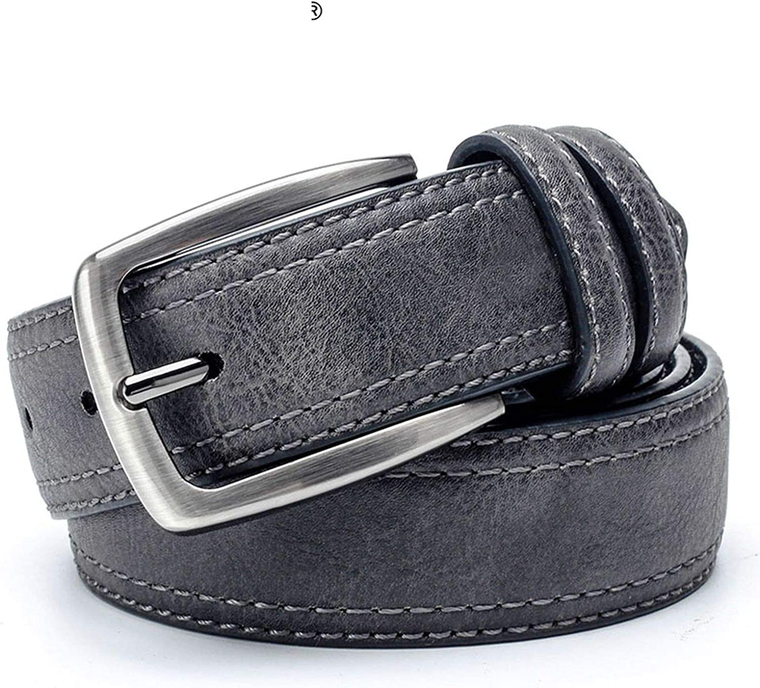 Men Vintage Belts For Jeans Luxury Split Leather Belt Men Famous Belt