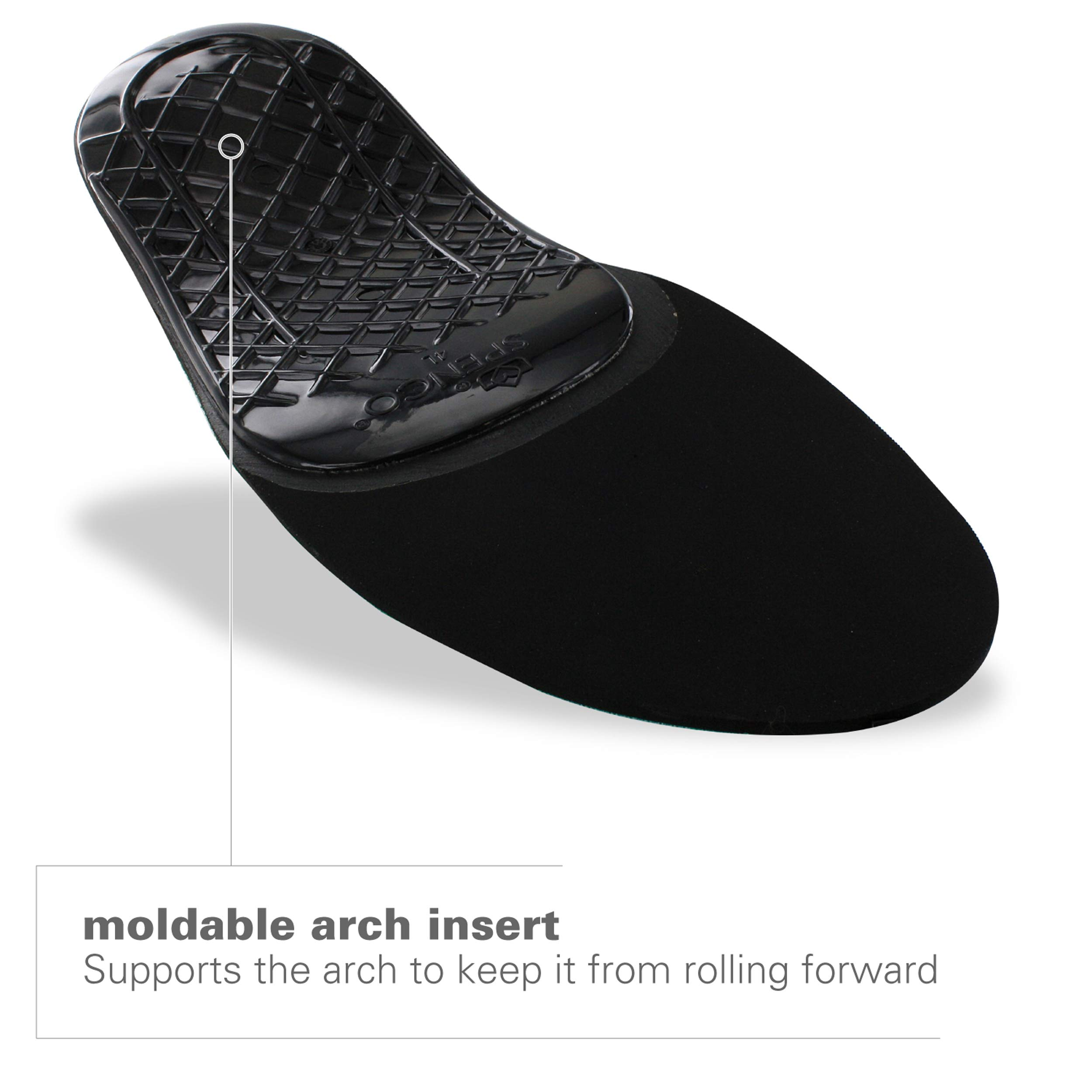 Spenco Rx Orthotic Arch Support Full Length Shoe Insoles, Women's 11-12.5/Men's 10-11.5 by Spenco (Image #2)