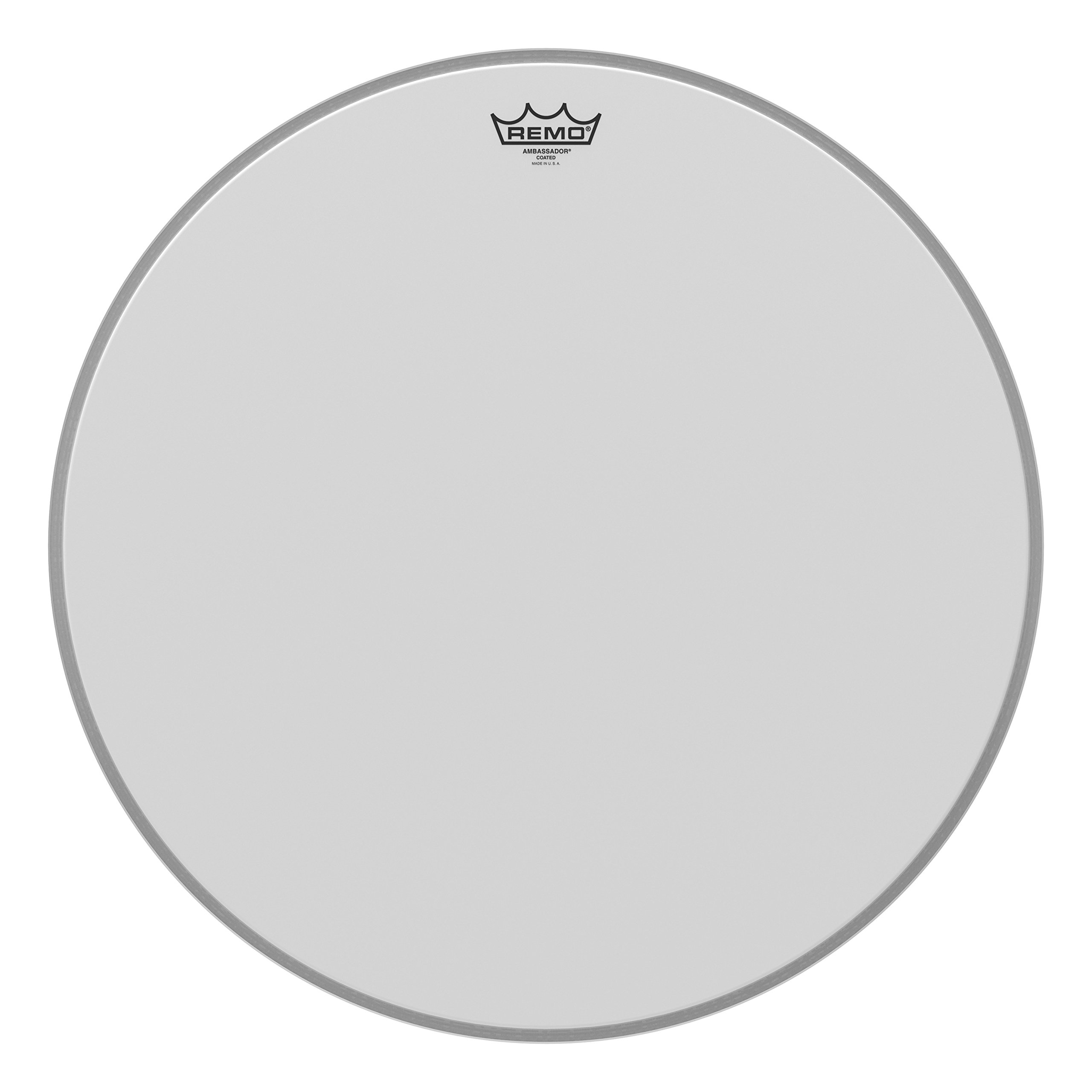 Remo Ambassador Coated Bass Drum Head - 22 Inch