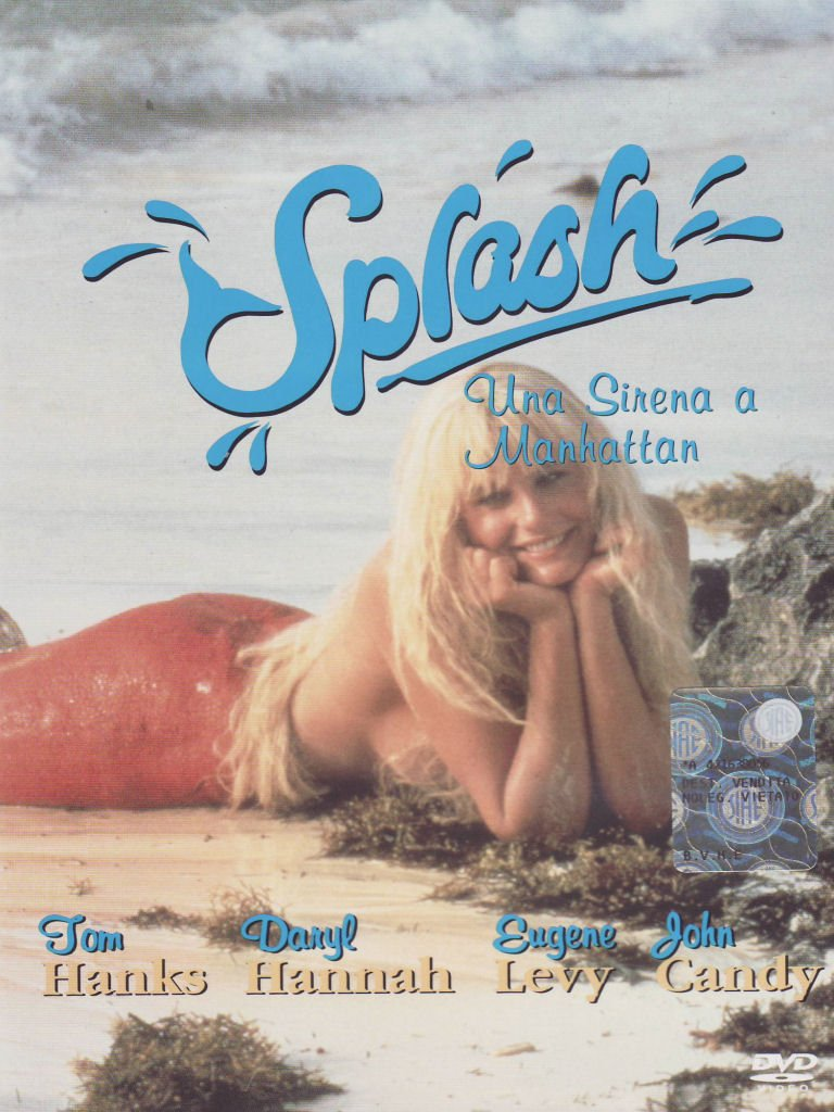 Amazon Com Splash Una Sirena A Manhattan Tom Hanks Daryl Hannah Ron Howard Cine Y Tv