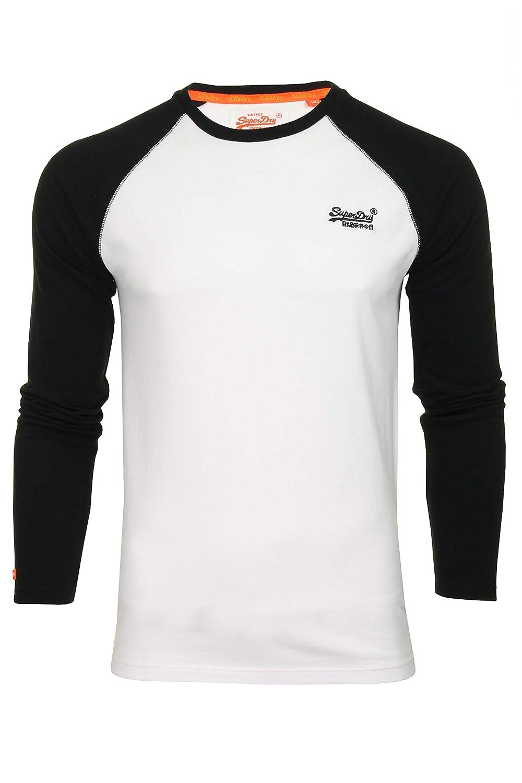 Superdry Camiseta de béisbol de manga larga Camisetas para