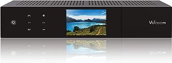 VU + 13300–589Duo 4K 2x DVB-C fbc-10sintonizador PVR Ready Linux Receptor UHD 2160p Negro