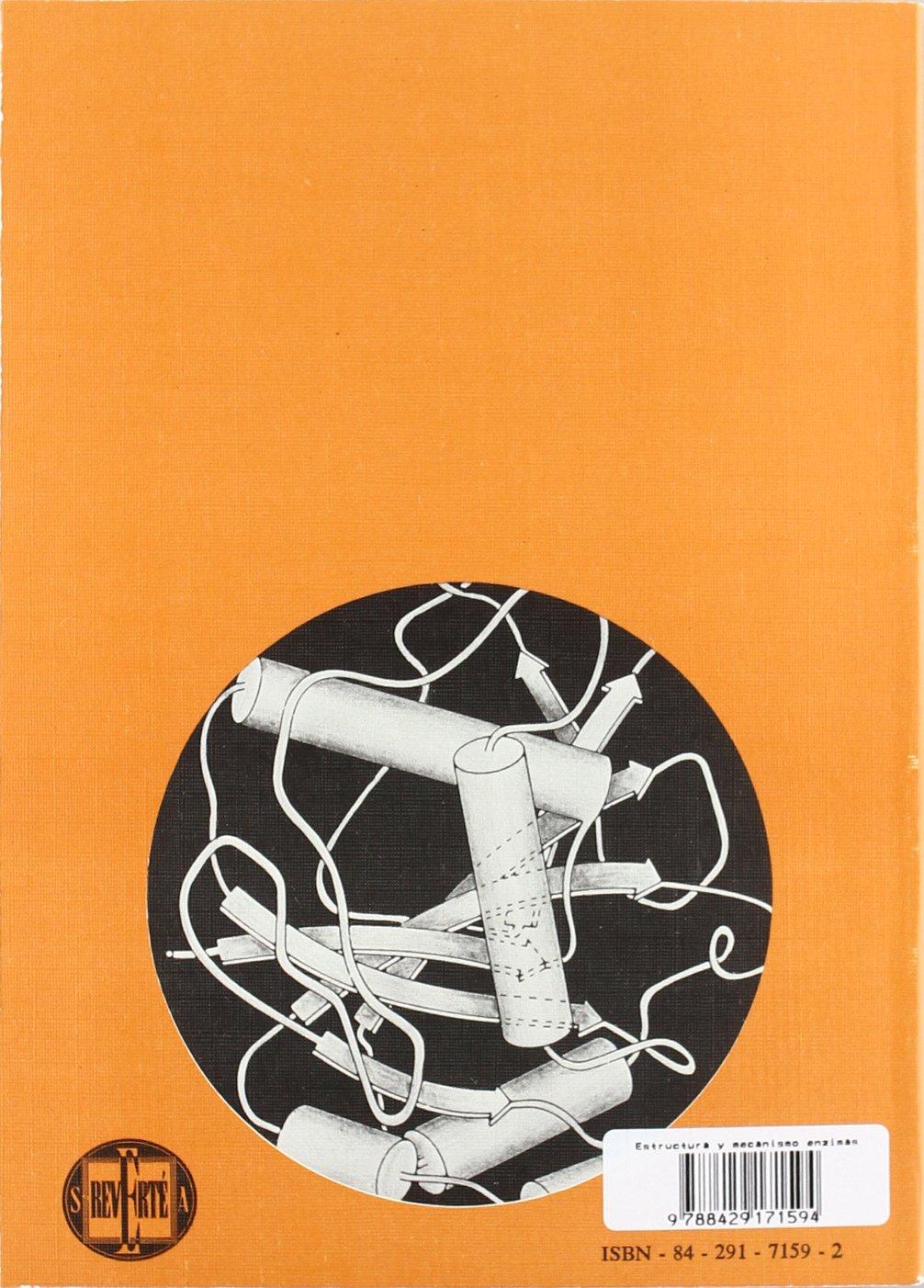 Estructura y mecanismo de los Enzimas: Amazon.es: A. Fersht ...