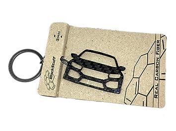 BlackStuff Civic Type R MK10 Cadena De Claves Llavero De Fibra De Carbono