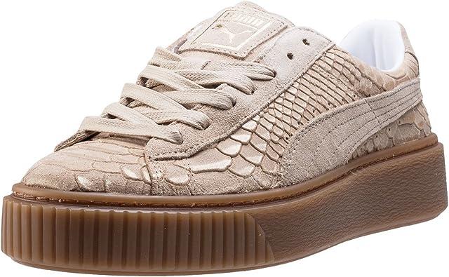 Puma Basket Platform Exotic Skin 36337702, Basket
