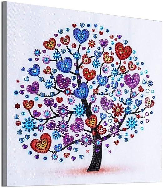 WOBANG DIY Diamant Pintura 5d Diamond Painting Completo árbol ...