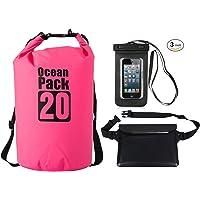 Azuki Waterproof Dry Bag +Waterproof Waist Sack + Waterproof Phone Case Three-piece suit 2-30L