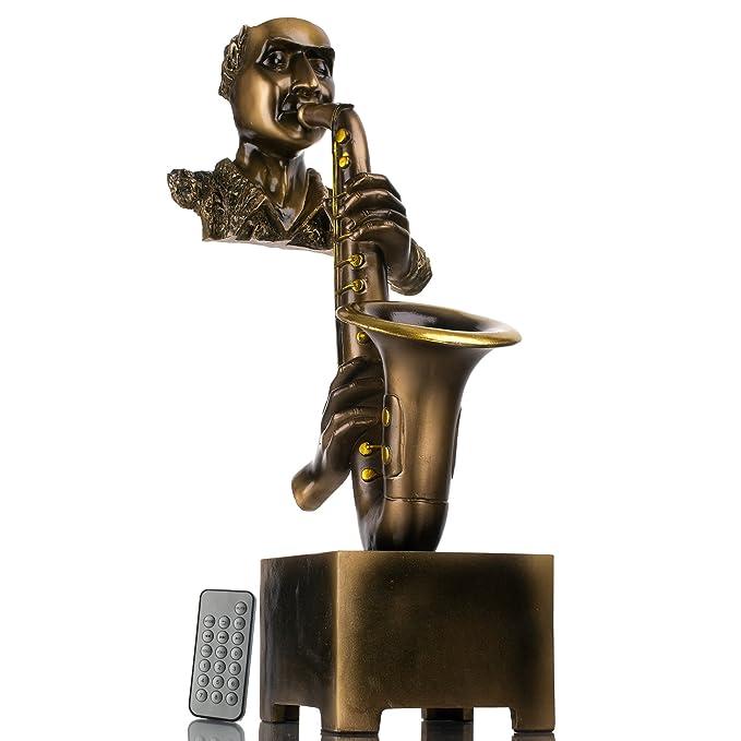 Amazon.com: Decorativo Home Decor Escultura Jazz Saxofón ...