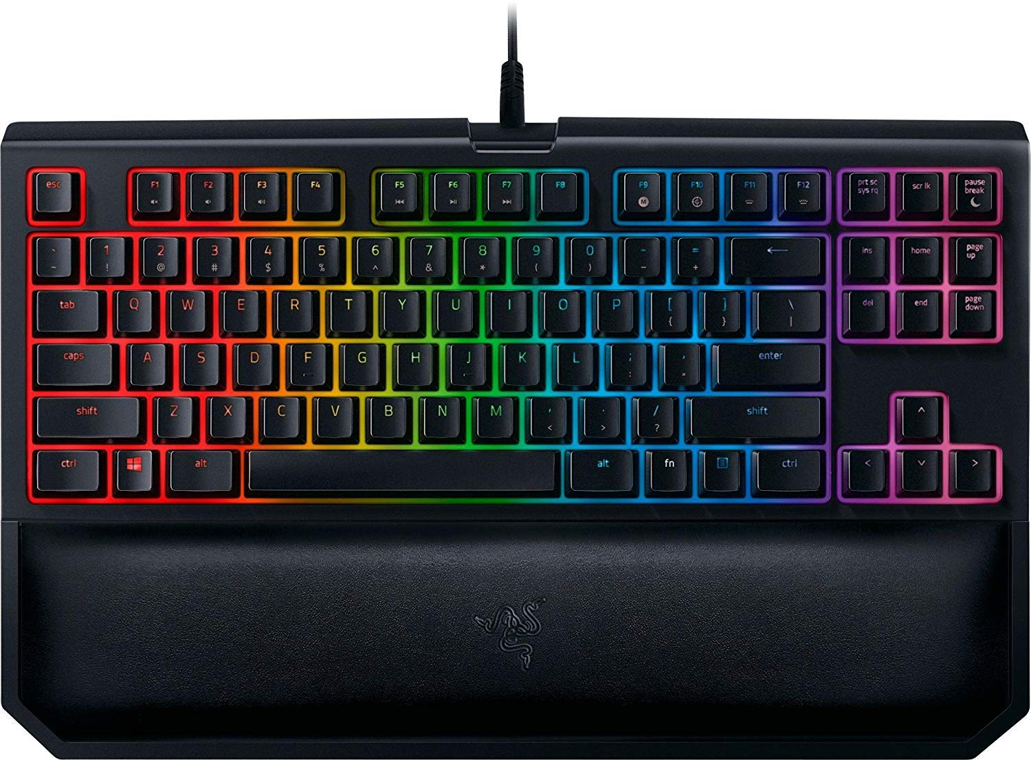 914d03dda24 ... Gaming Keyboard - [Matte Black]: Yellow Key Switches - Linear & Silent  - Chroma RGB Lighting - Magnetic Wrist Rest - Programmable Macro  Functionality