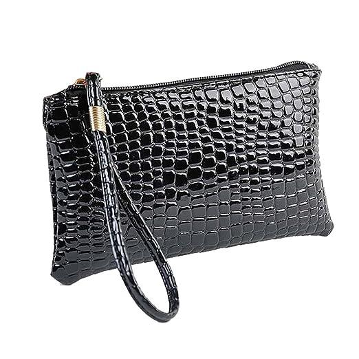 ed8e7032b6b5 Cinhent Wallets Women Lady Fashion Crocodile Leather Clutch Handbag ...