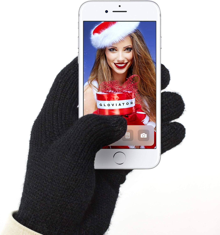 Gloviator® Guantes Táctiles para Smartphones y Tablets   Unisex ...