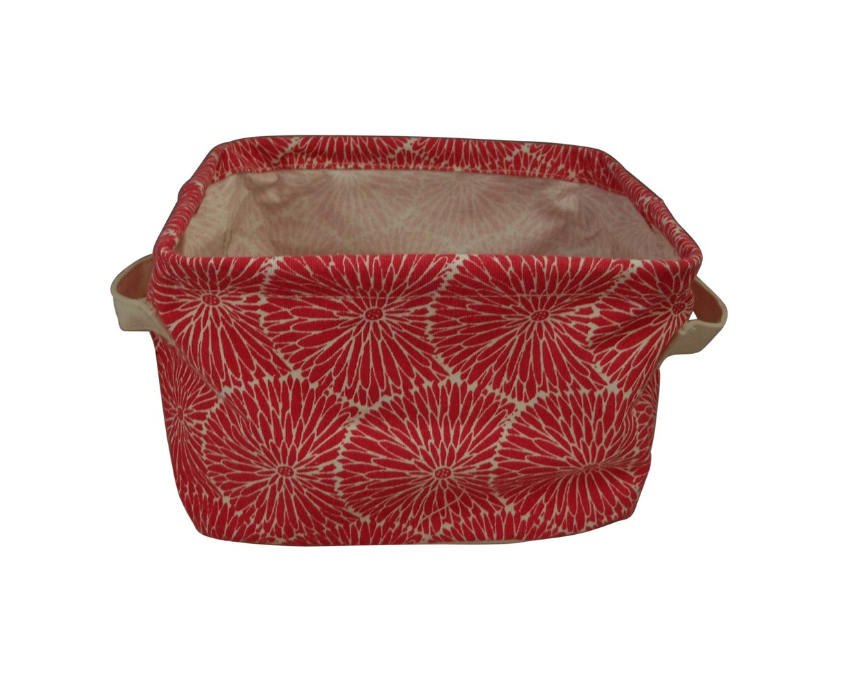 Cool Amazon Com Gisela Graham Pink Gerbera Fabric Storage Basket Short Links Chair Design For Home Short Linksinfo
