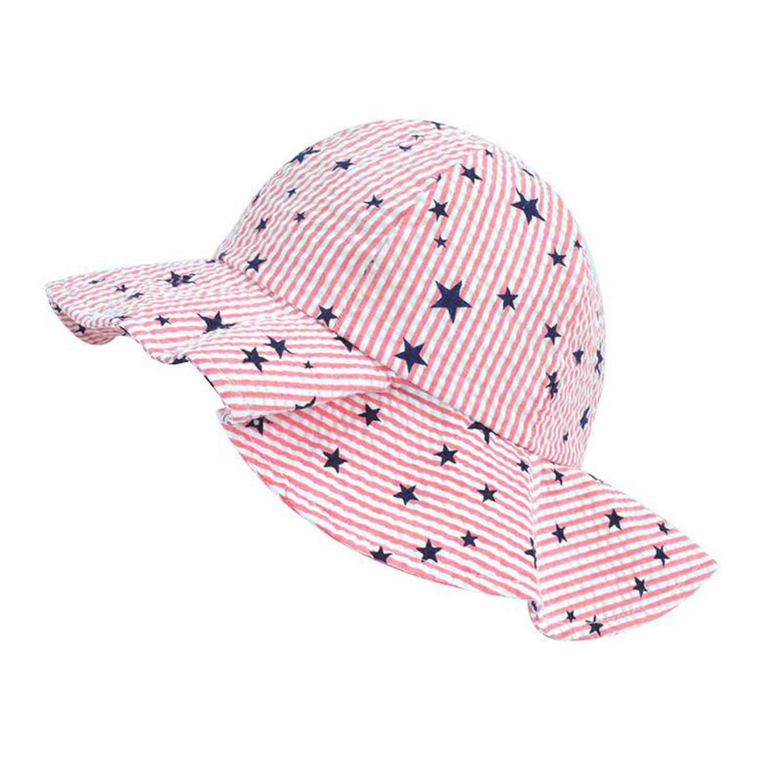 Solid Color Summer Baby Hat Children Panama Sun Cap Cotton Bucket Hats Boys Girls Wide Brim Beach Caps