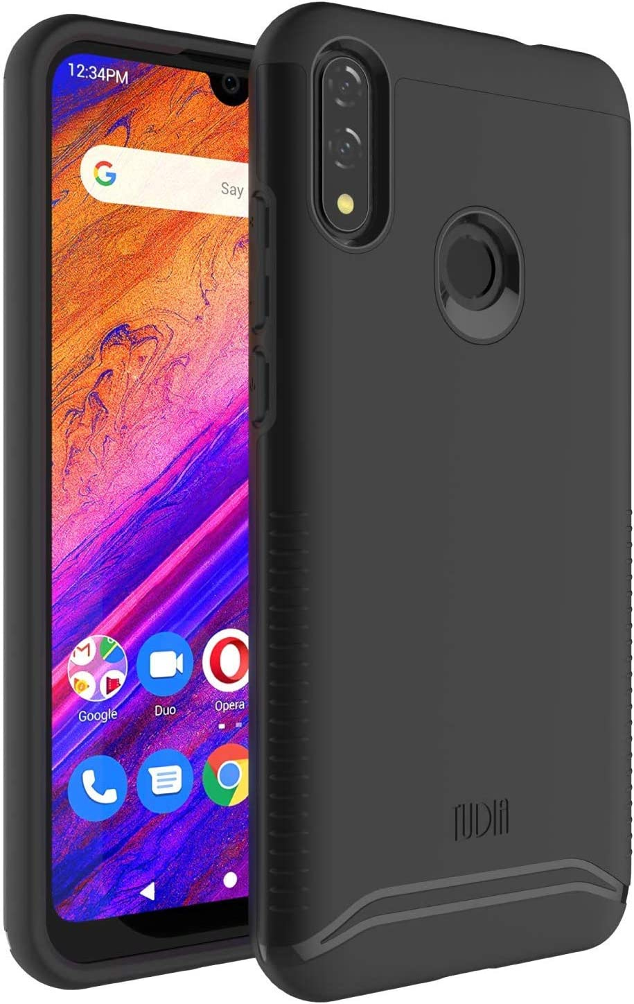 "TUDIA Merge Designed for BLU V9 / BLU G8-6.3"" Case (Matte Black)"