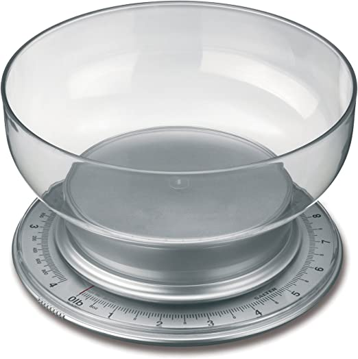 amazon com salter multiweigh mechanical scale with 2 liter mixing bowl weighs to 9 pound mechanical kitchen scales kitchen dining salter multiweigh mechanical scale with 2 liter mixing bowl weighs to 9 pound