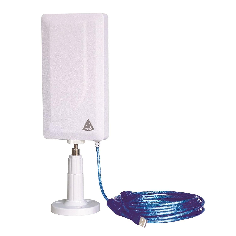 MELON N89 Antena wifi exterior e interior 2000mw + 24 dbi 10 metros usb MELON WIFISKY