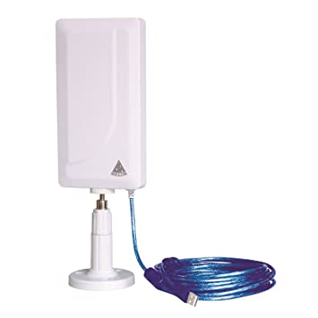 MELON N89 Antena wifi exterior e interior 2000mw + 24 dbi 10 metros usb: Amazon.es: Electrónica