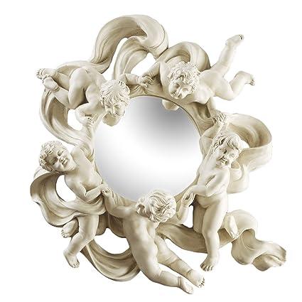 Design Toscano Cherubs Playful Dance Petite Wall Mirror