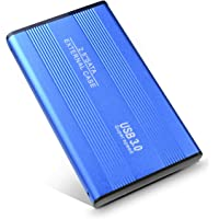 Disco Duro Externo, Toshaan Disco Duro Externo 1 TB 2TB para PC, Mac, Desktop, Laptop, MacBook, Chromebook, Xbox One (2TB, Azul)