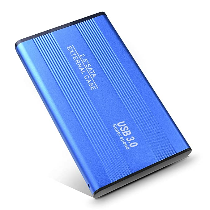 Disco Duro Externo 2TB, Disco Duro Externo para PC, Mac, MacBook, Xbox One, PS4(2TB,Azul): Amazon.es: Electrónica