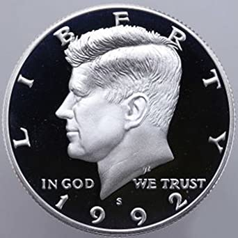 1980 S Gem Proof Kennedy Half Dollar US Coin 1//2 DCAM US Mint