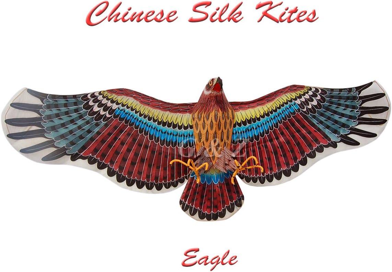 G'z 3D Extra Large Silk Eagle Kite - Chinese Handmade Silk Kites for Fly or Decor 71FzW2etLNL