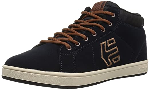 Etnies Kids Fader Mt Navy/Brown/White 7 US (Kids) tZj72br