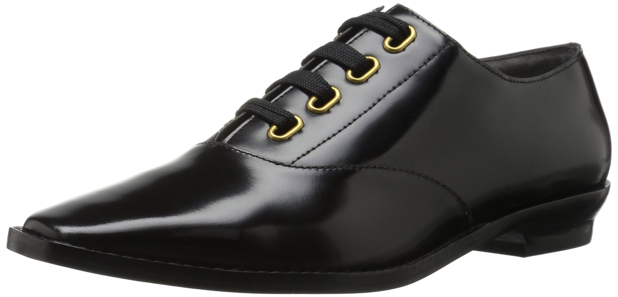 Marc Jacobs Women's Brittany Lace up Oxford, Black, 37 M EU (7 US) by Marc Jacobs (Image #1)