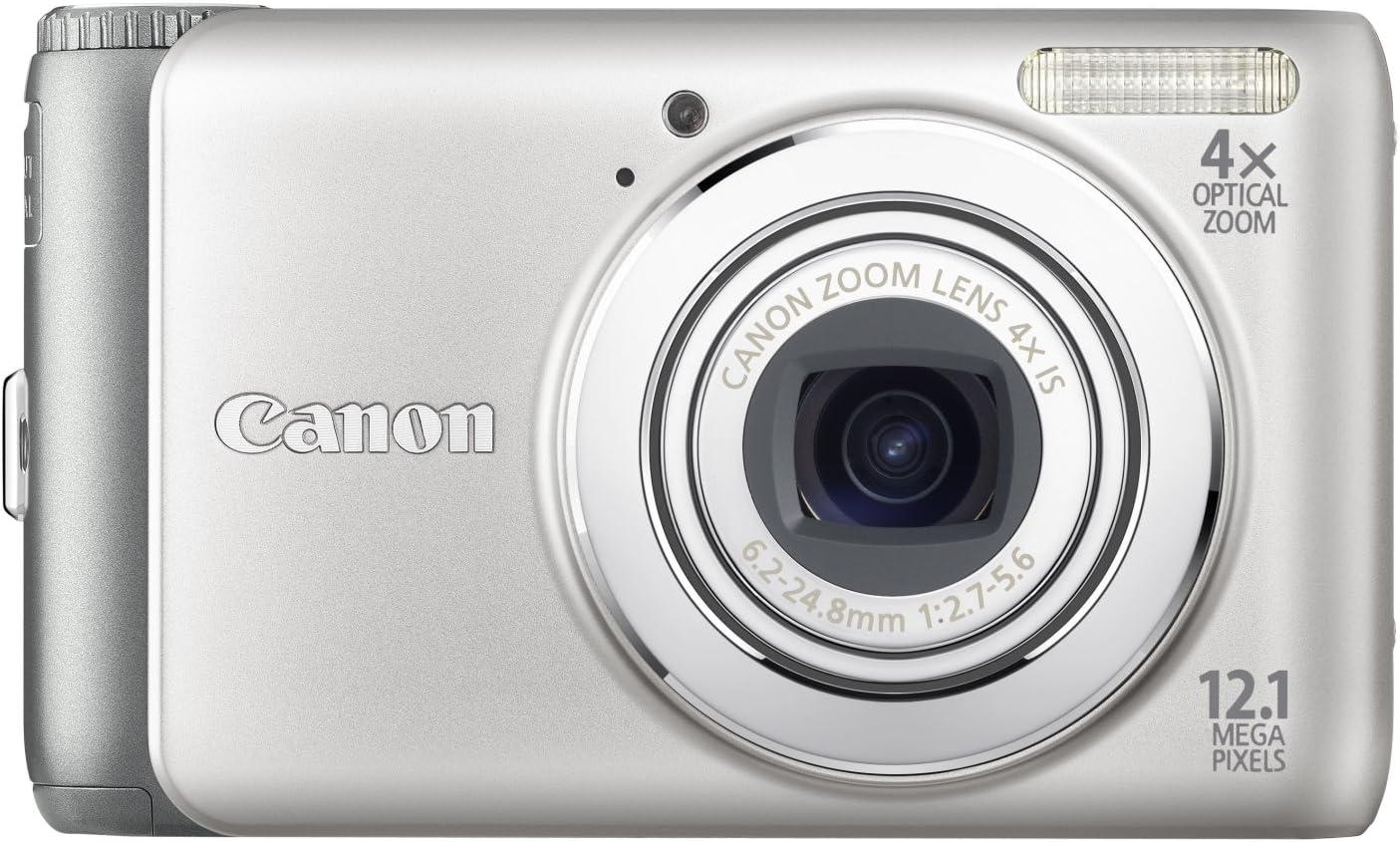 Canon Powershot A3100 Is Digitalkamera 2 7 Zoll Silber Kamera