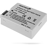 Fosmon LP-E8 High Capacity Lithium-Ion Rechargeable Replacement Battery (2000 mAh) for Canon EOS 700D / 550D / 600D / 650D, Rebel T2i / T3i / T4i / T5i, Kiss X5 / EOS Kiss X6i
