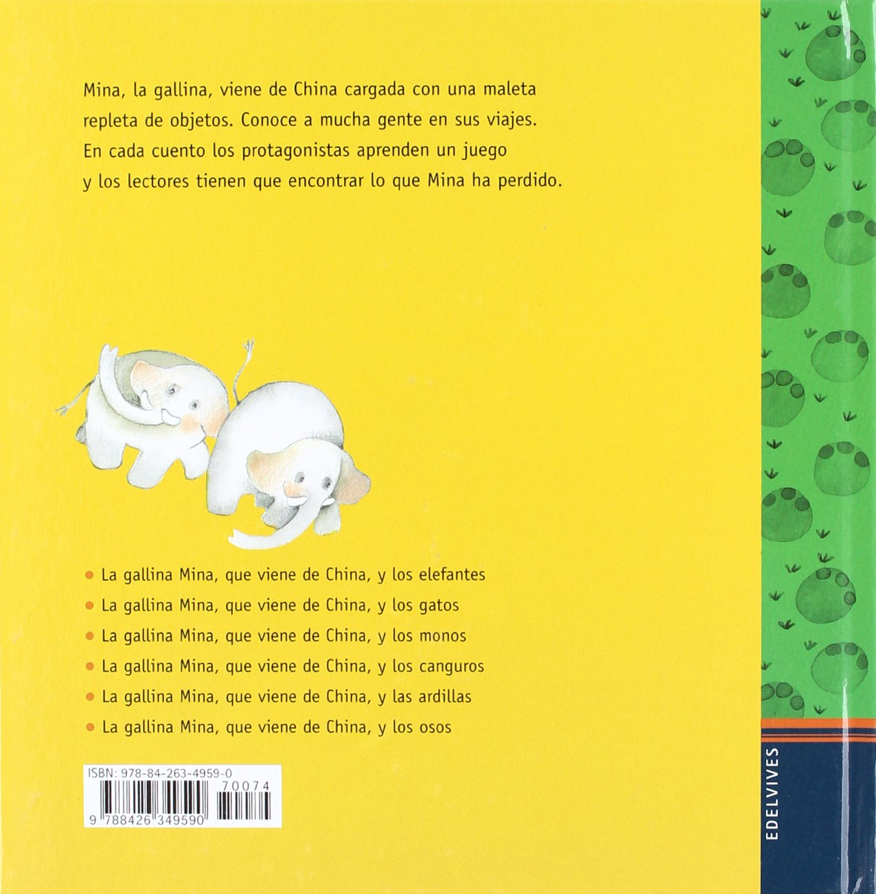 La gallina Mina que viene de China y los elefantes: Mercè Arànega: 9788426349590: Amazon.com: Books