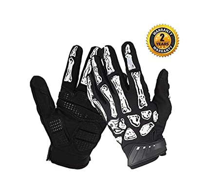 da16a1d91a1 Amazon.com   V-best Cycling Skeleton Gloves