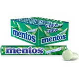 Mentos Spearmint Candy Roll, 40 Rolls, Burst of Spearmint Freshness, 40 x 37.5g