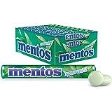 Mentos Spearmint Candy Roll, 40 Rolls, Burst of Spearmint Freshness, 40 x 37.5g