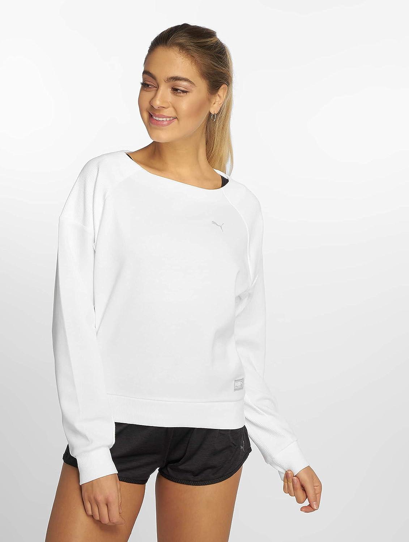 PUMA Sweatshirt Fusion pour Femme Puma White XL: