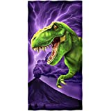 T-Rex Cotton Beach Towel by Dawhud Direct